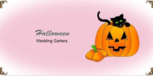 Halloween-Wedding-Garters
