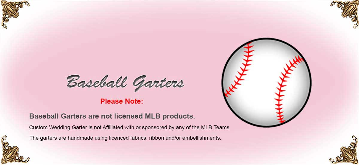 MLB-Baseball-Wedding-Garters