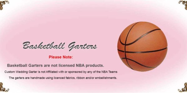 NBA-Basketball-Wedding-Garters