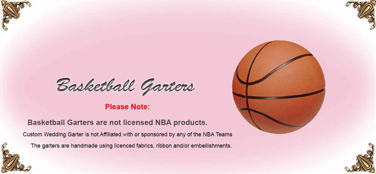 NBA-Basketball-Wedding-Garters