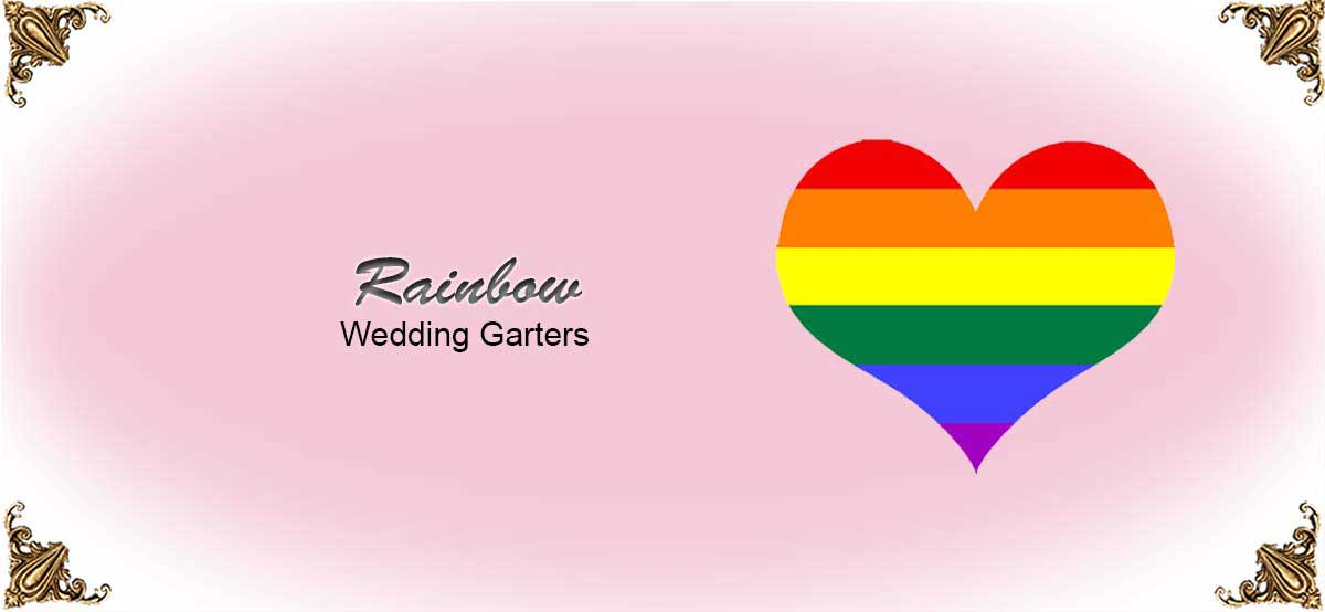 Rainbow-Wedding-Garters