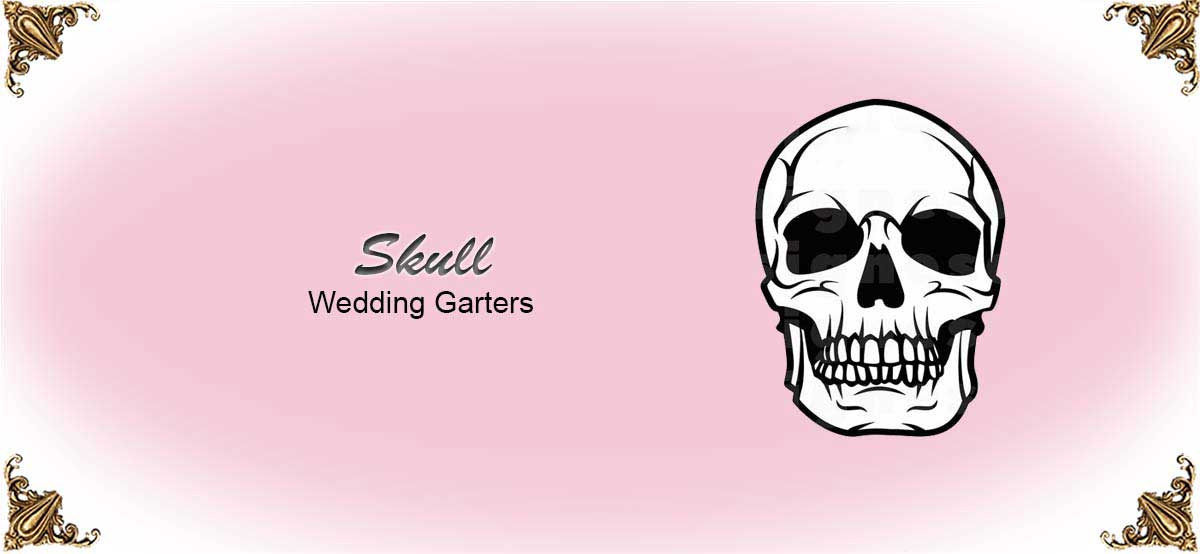 Skull-Wedding-Garters