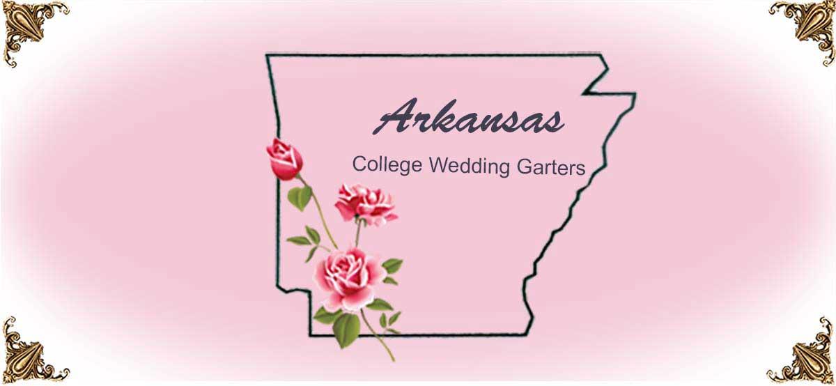 State-Arkansas-College-Wedding-Garters