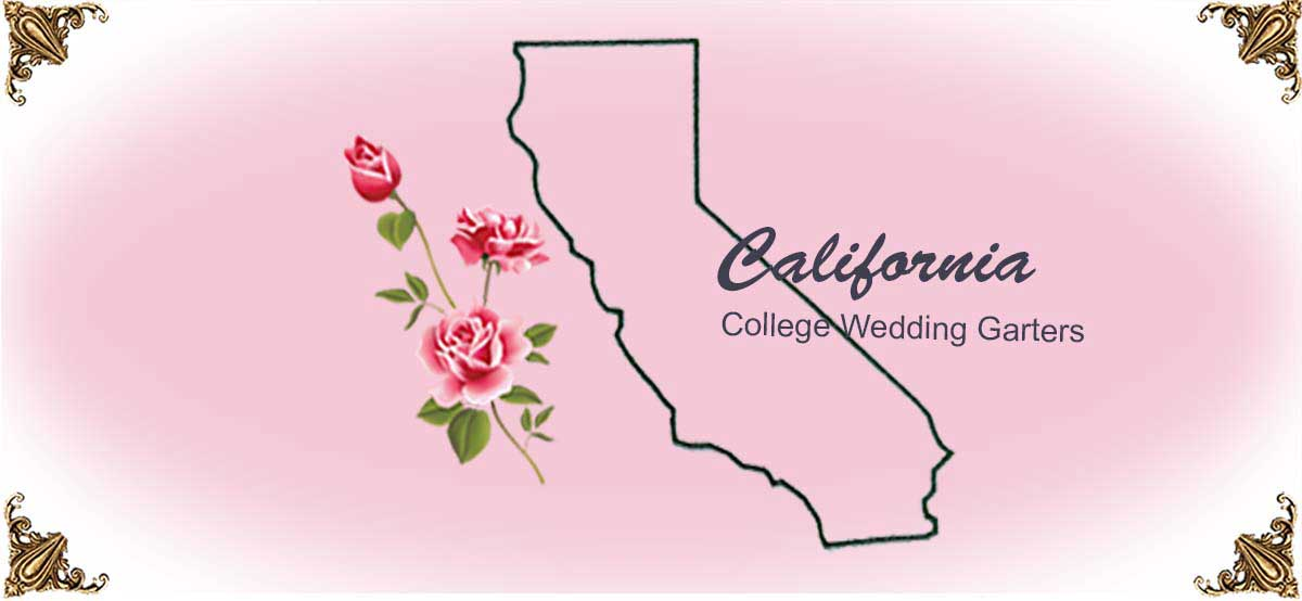 State-California-College-Wedding-Garters