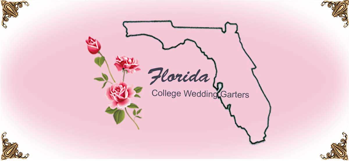 State-Florida-College-Wedding-Garters