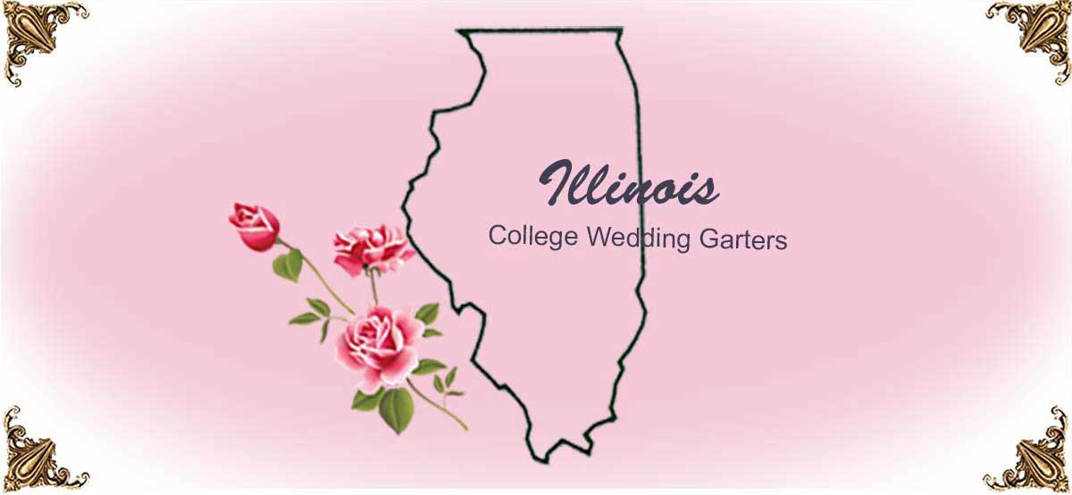 State-Illinois-College-Wedding-Garters
