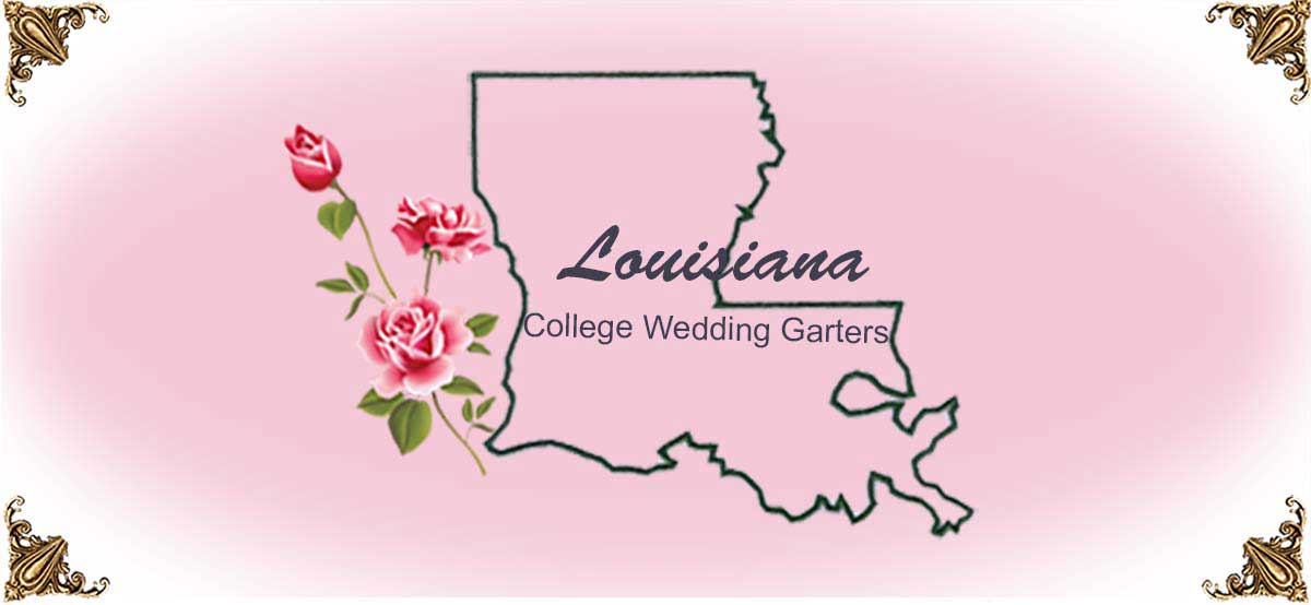 State-Louisiana-College-Wedding-Garters