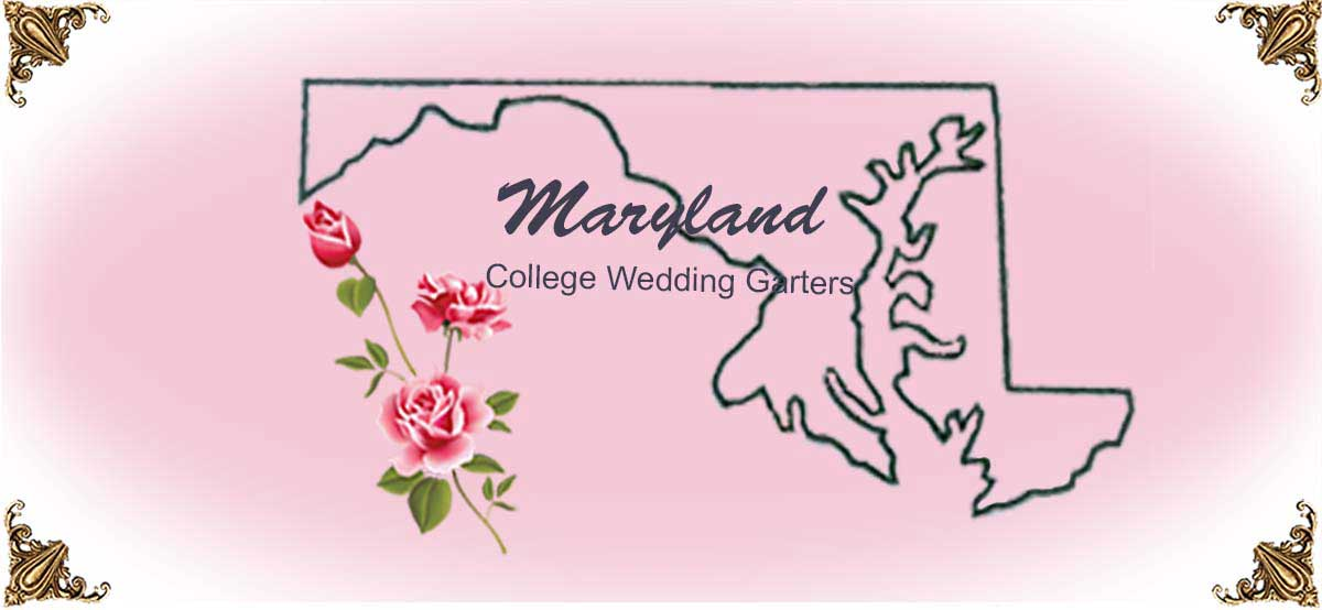 State-Maryland-College-Wedding-Garters