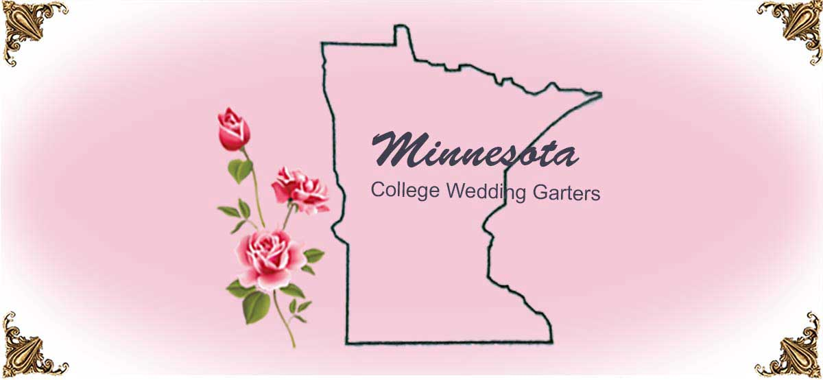 State-Minnesota-College-Wedding-Garters