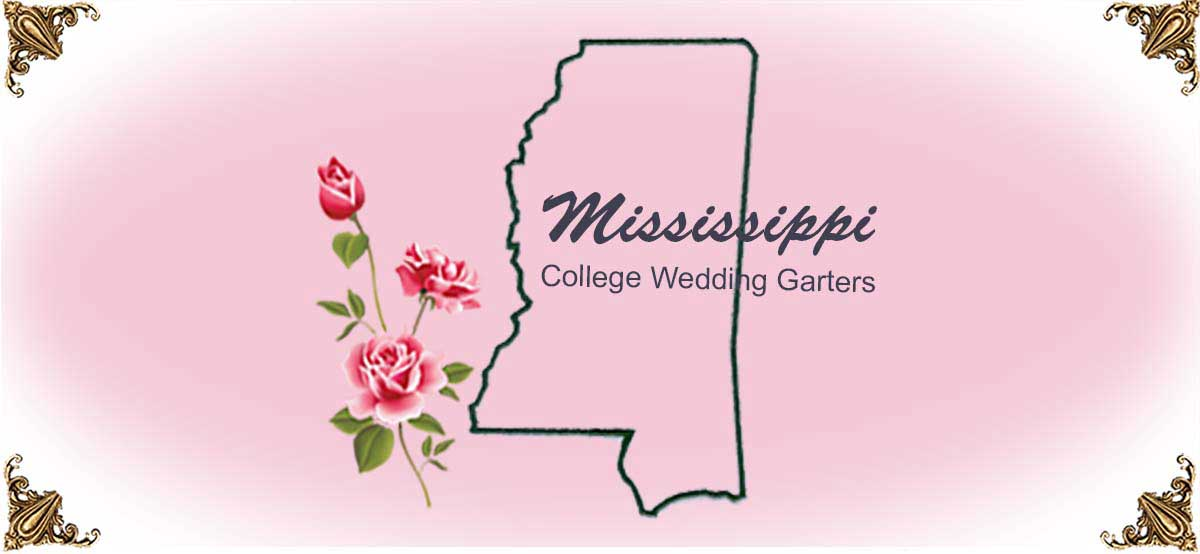 State-Mississippi-College-Wedding-Garters