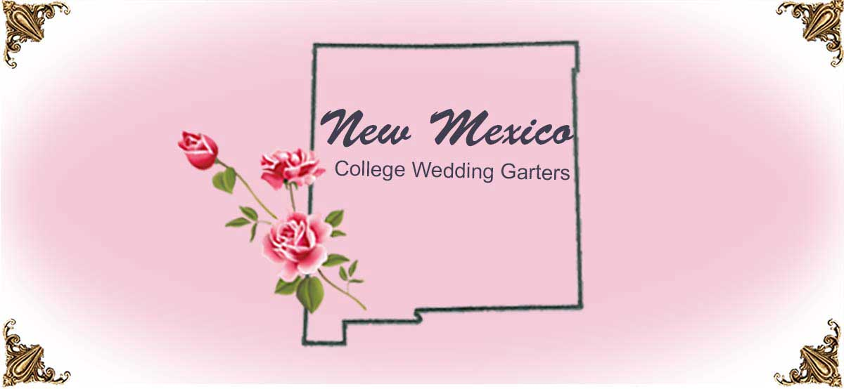 State-New-Mexico-College-Wedding-Garters