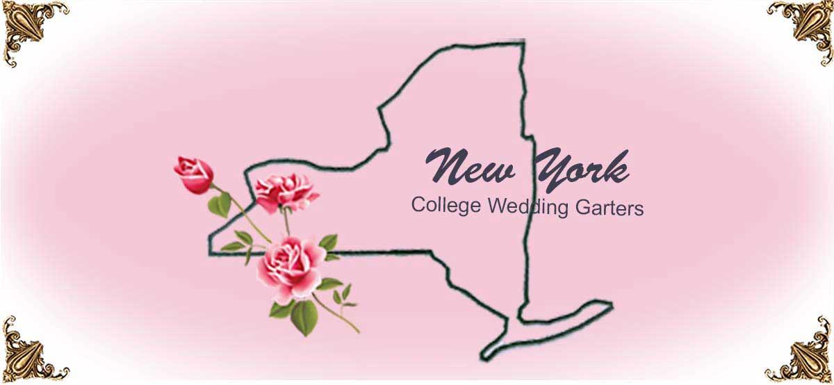 State-New-York-College-Wedding-Garters