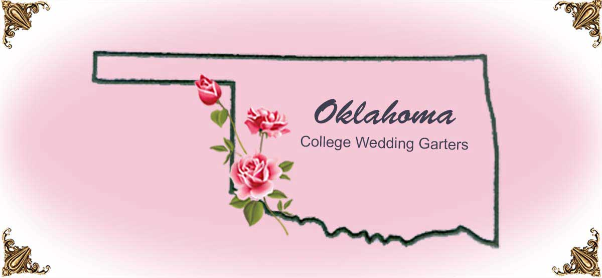 State-Oklahoma-College-Wedding-Garters