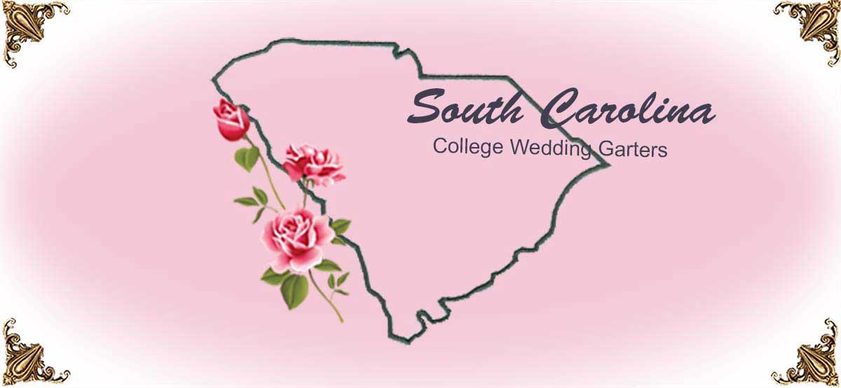 State-South-Carolina-College-Wedding-Garters