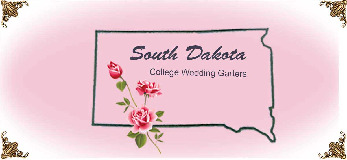 State-South-Dakota-College-Wedding-Garters