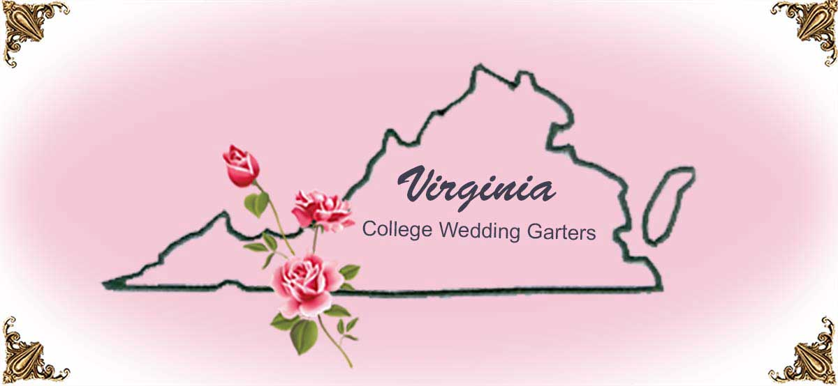 State-Virginia-College-Wedding-Garters
