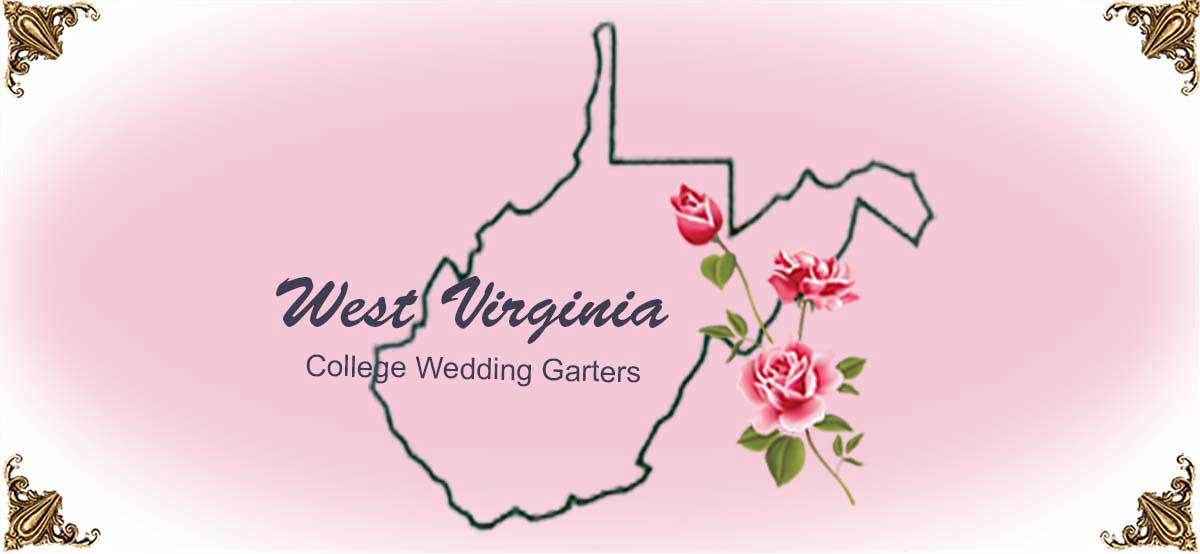 State-West-Virginia-College-Wedding-Garters