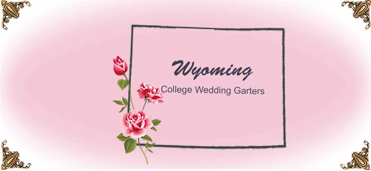 State-Wyoming-College-Wedding-Garters