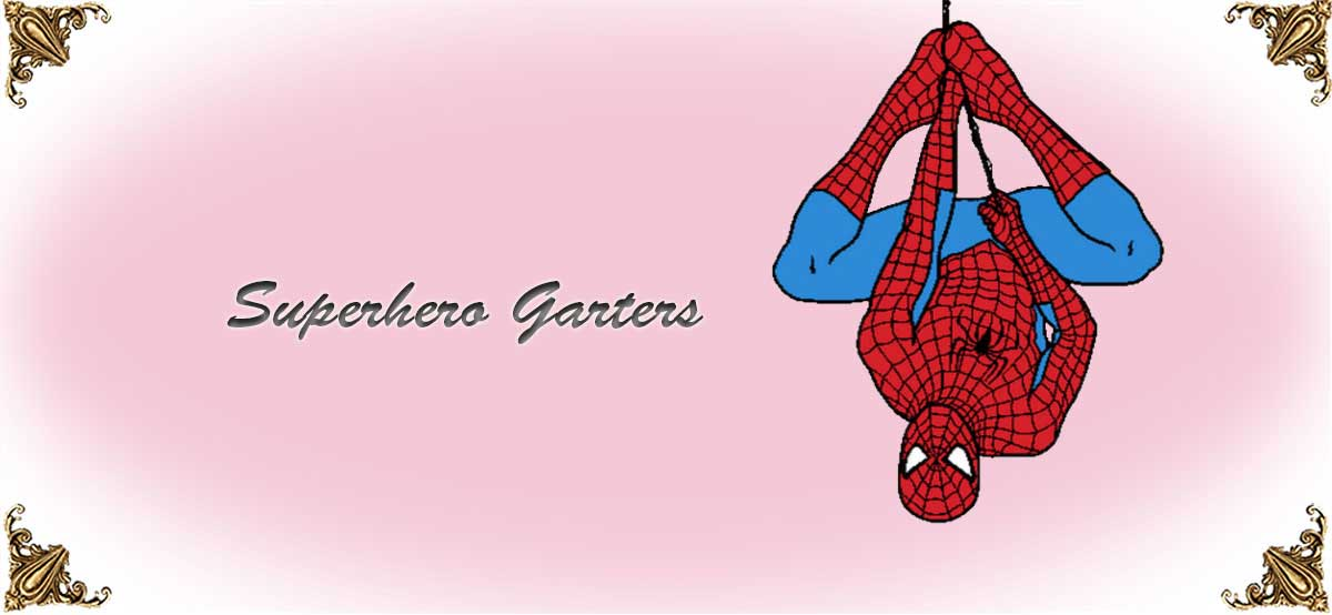 Superhero-Wedding-Garters