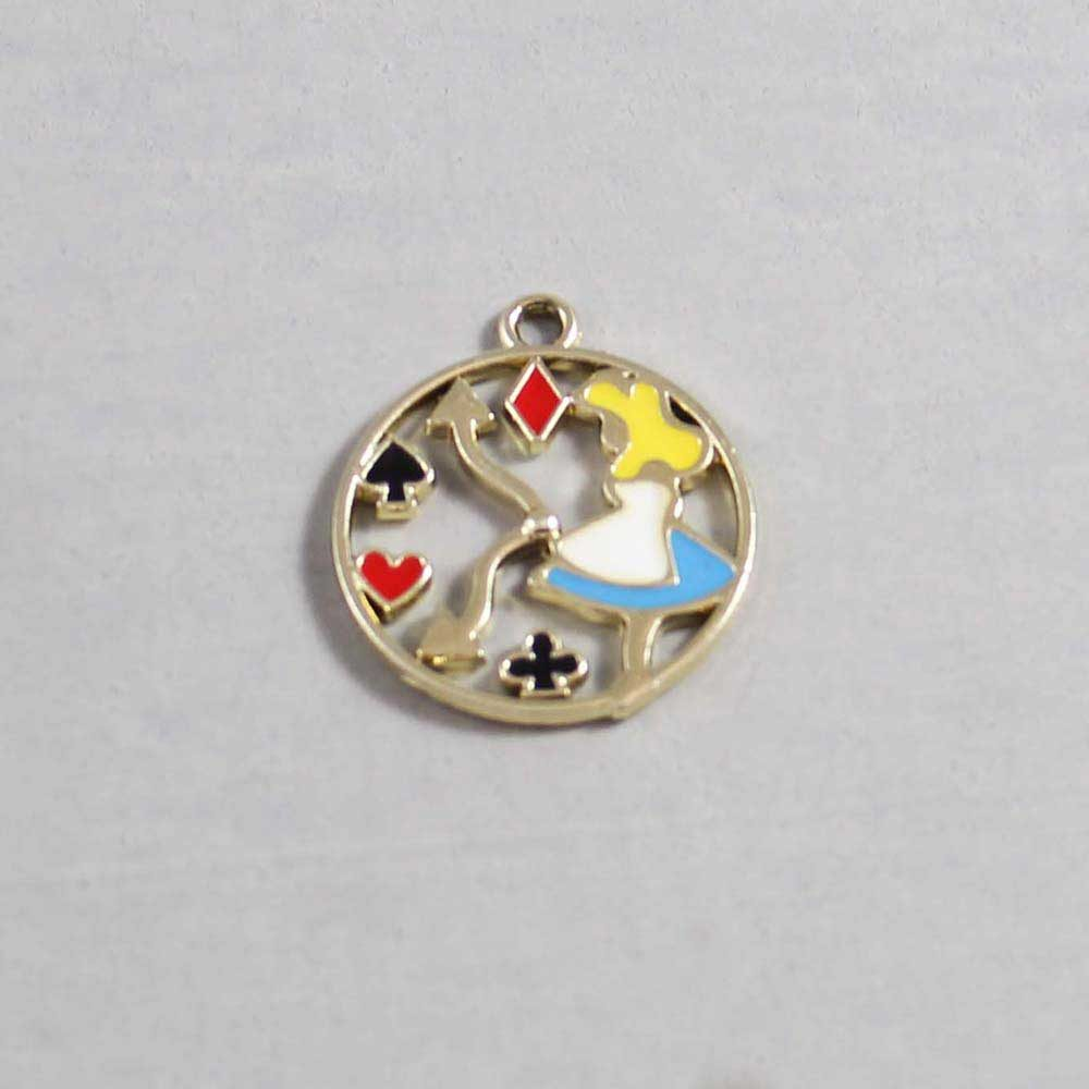 Fairy Tale Alice in Wonderland Charm 03