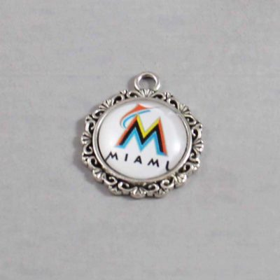 MLB Florida Marlins Charm 01