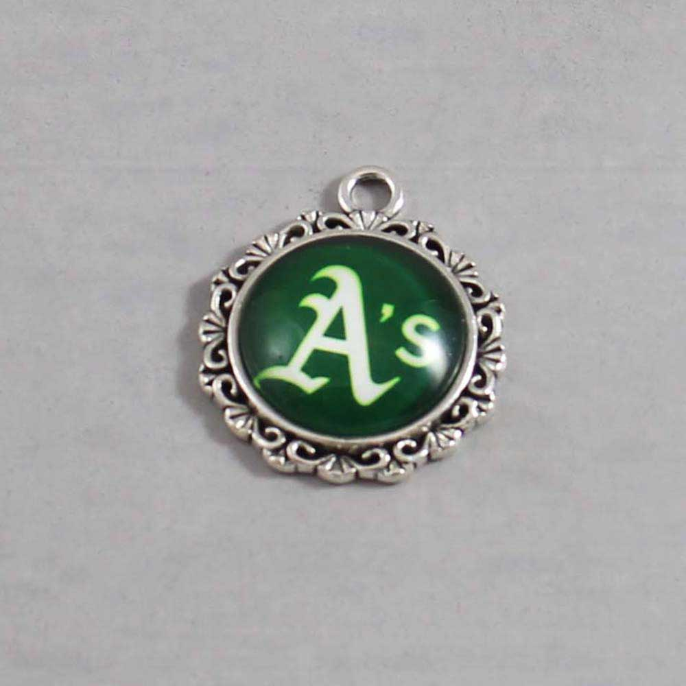 MLB Oakland Athletics Charm 02