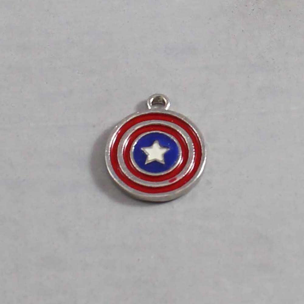 Captain America Charm 01