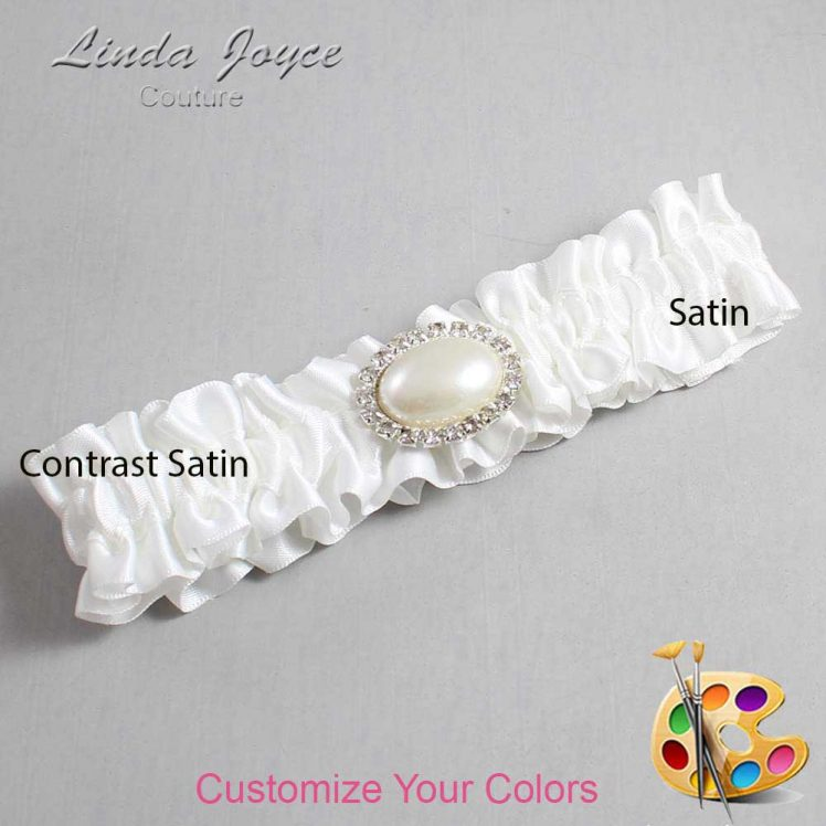 Couture Garters / Custom Wedding Garter / Customizable Wedding Garters / Personalized Wedding Garters / Jane #01-M30 / Wedding Garters / Bridal Garter / Prom Garter / Linda Joyce Couture
