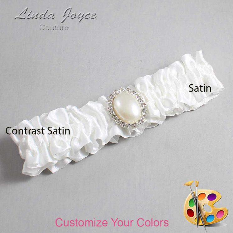 Couture Garters / Custom Wedding Garter / Customizable Wedding Garters / Personalized Wedding Garters / Halle #01-M31 / Wedding Garters / Bridal Garter / Prom Garter / Linda Joyce Couture