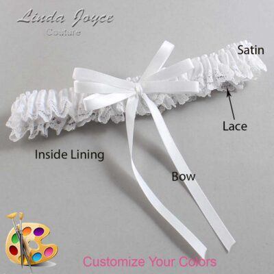 Couture Garters / Custom Wedding Garter / Customizable Wedding Garters / Personalized Wedding Garters / Avis #09-B11-00 / Wedding Garters / Bridal Garter / Prom Garter / Linda Joyce Couture
