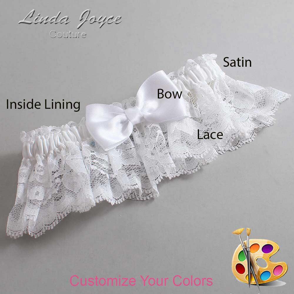 Customizable Wedding Garter / Justine #10-B29-00