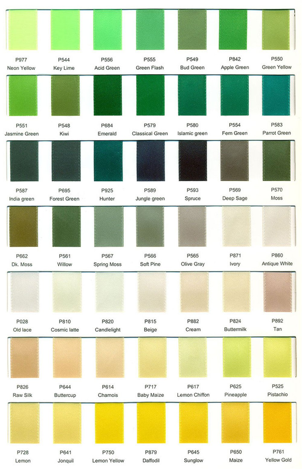 Wedding Garter Satin Colors 04