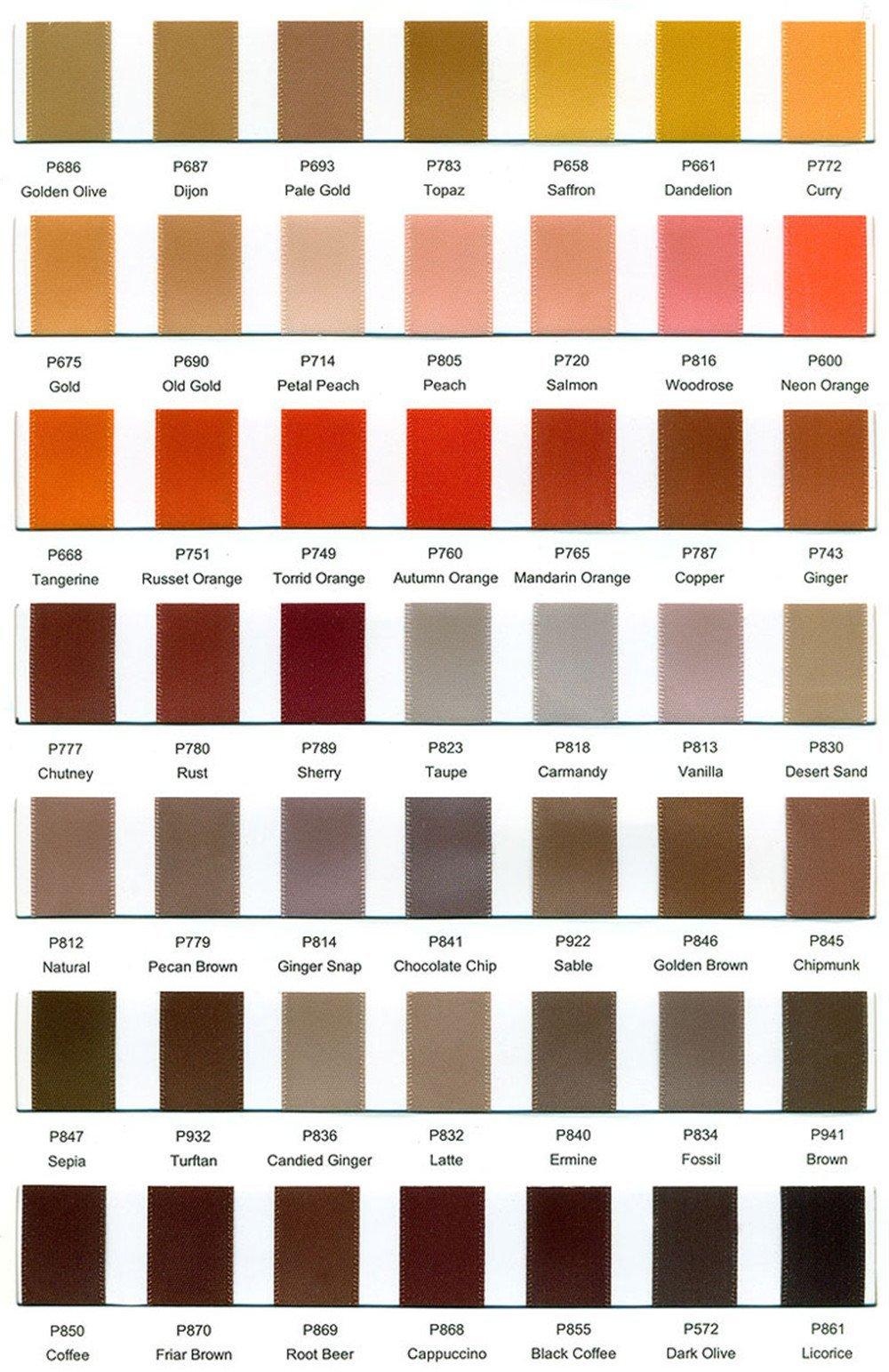 Wedding Garter Satin Colors 05