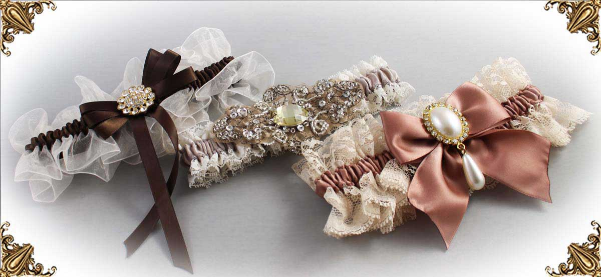 Ivory and Brown Weddin