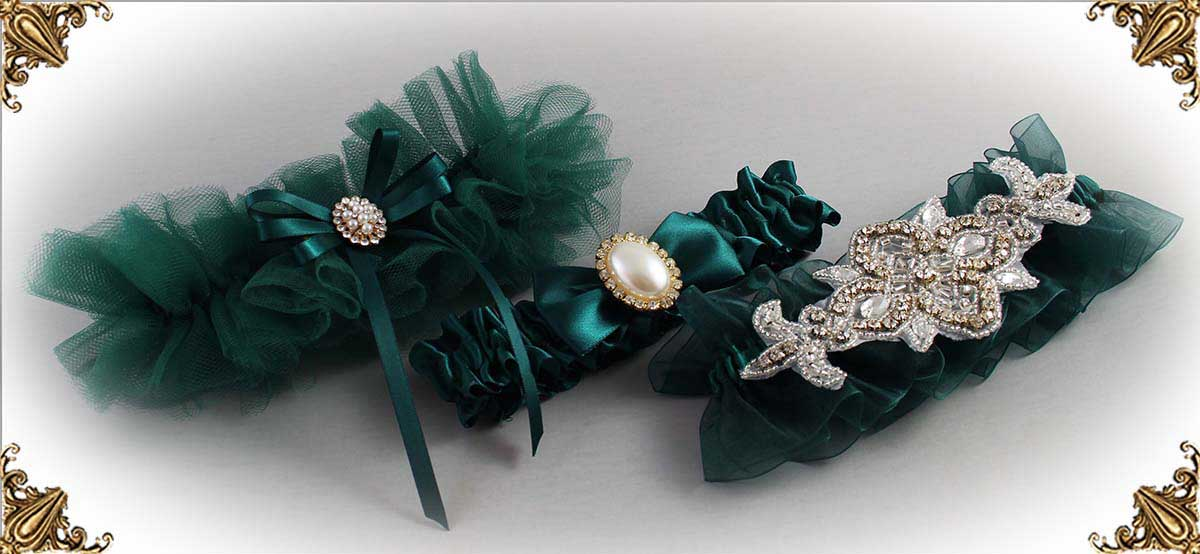 Jungle-Green-Wedding-Garters-589