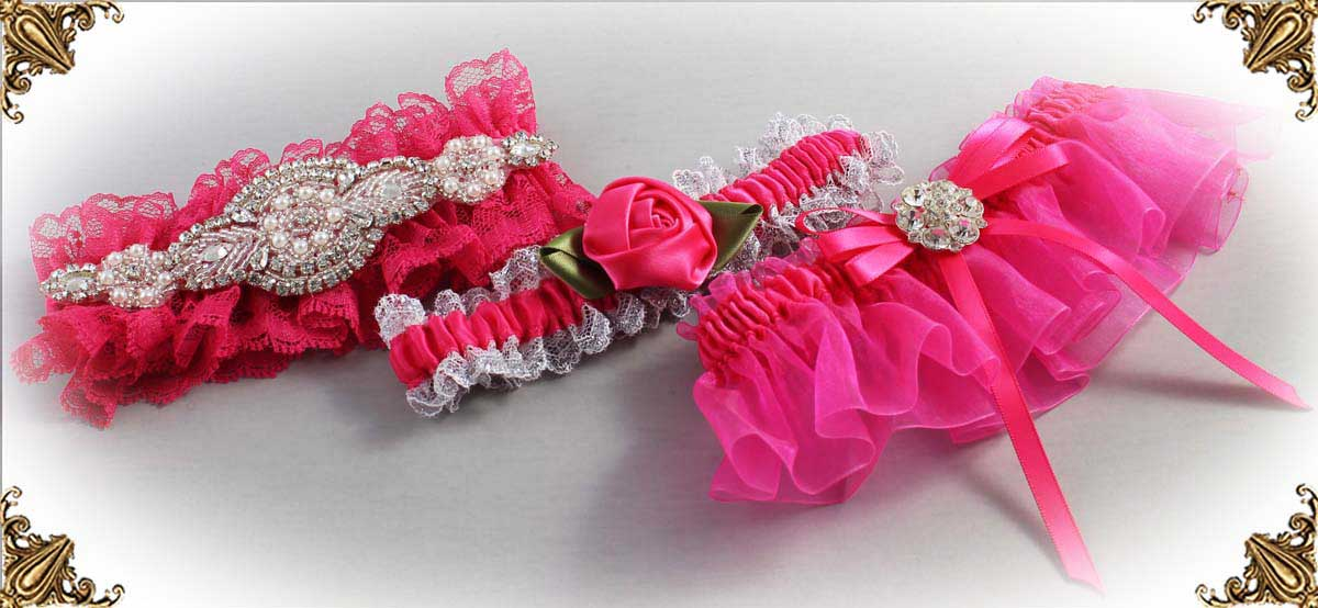 Pink-Wedding-Garters_Hot-Magenta-Wedding-Garter-175