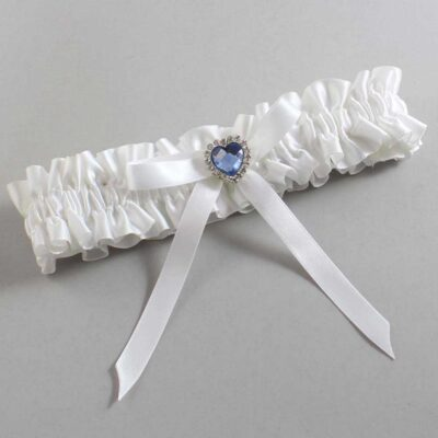 White Wedding Garter / White Wedding Garters / Dovie #01-B04-M25-112-White / Wedding Garters / Custom Wedding Garters / Bridal Garter / Prom Garter / Linda Joyce Couture