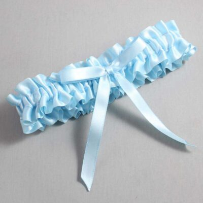 Alice Blue Wedding Garter / Blue Wedding Garters / Alberta #01-B04-00-305-Alice-Blue / Wedding Garters / Custom Wedding Garters / Bridal Garter / Prom Garter / Linda Joyce Couture