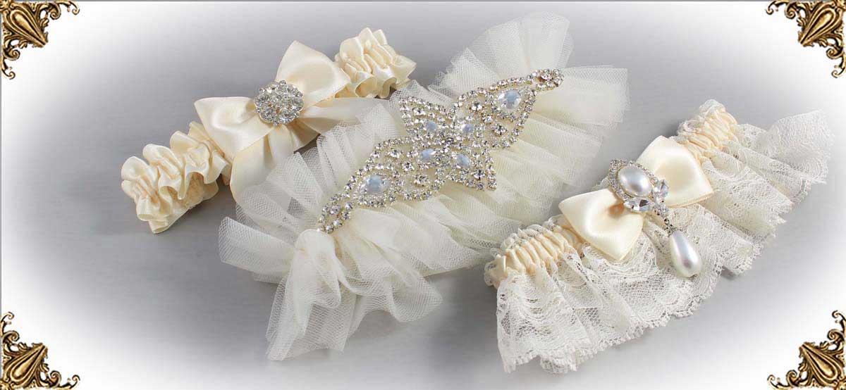 Solid-Ivory-Wedding-Garters