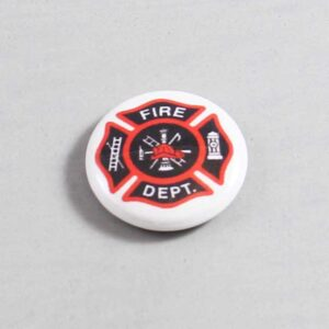 Firefighter Button 09 Beige