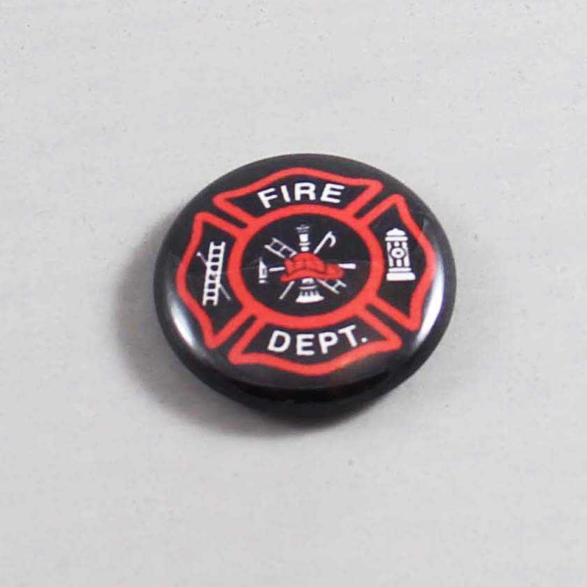 Firefighter Button 09 Black