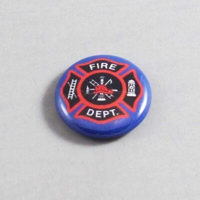 Firefighter Button 09 Navy Blue