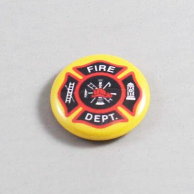 Firefighter Button 09 Old Gold