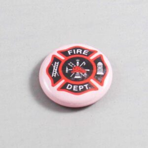 Firefighter Button 09 Pink