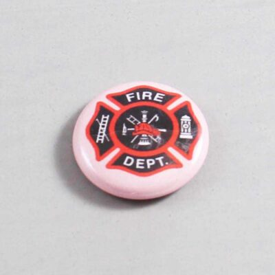 Firefighter Button 09 Pink
