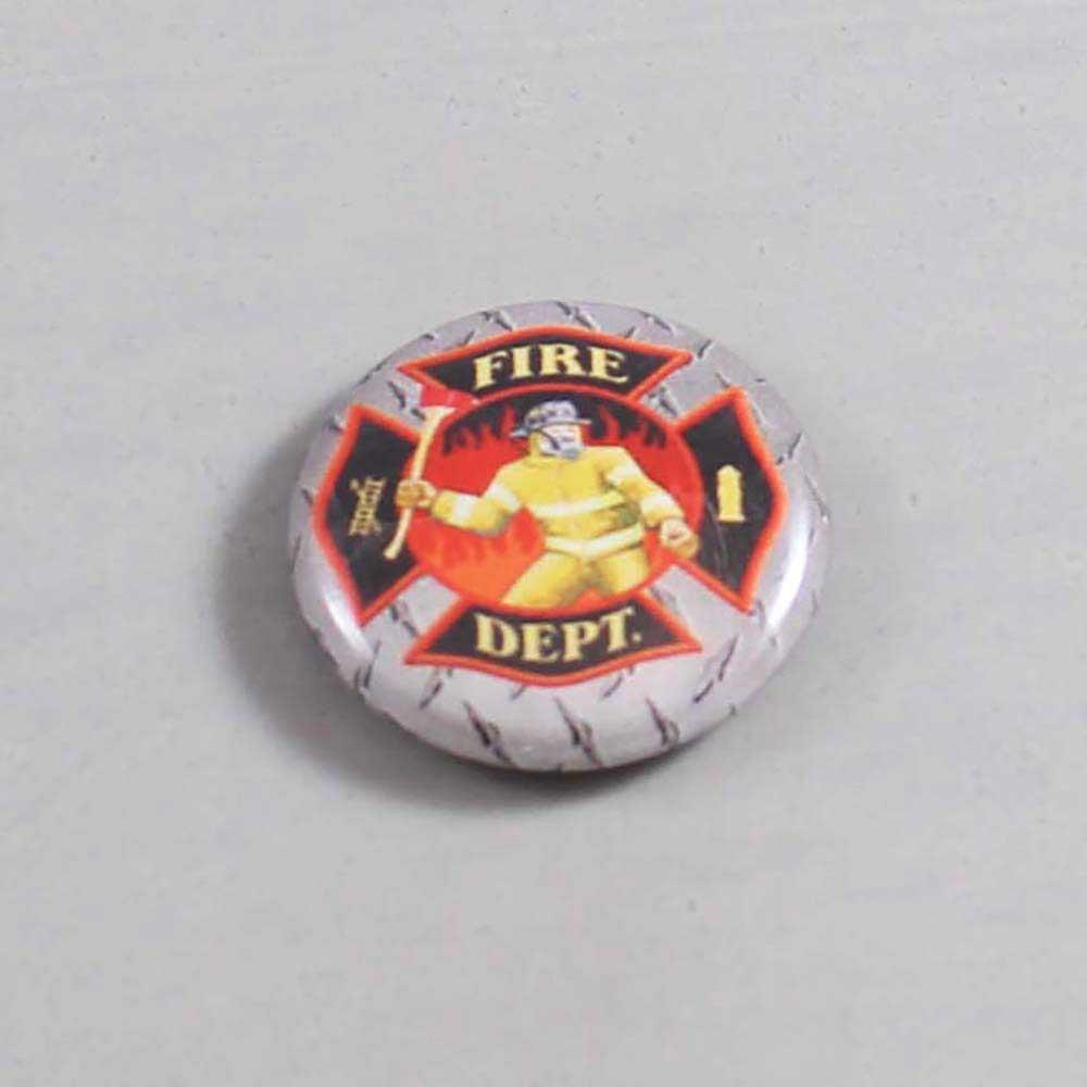 Firefighter Button 11