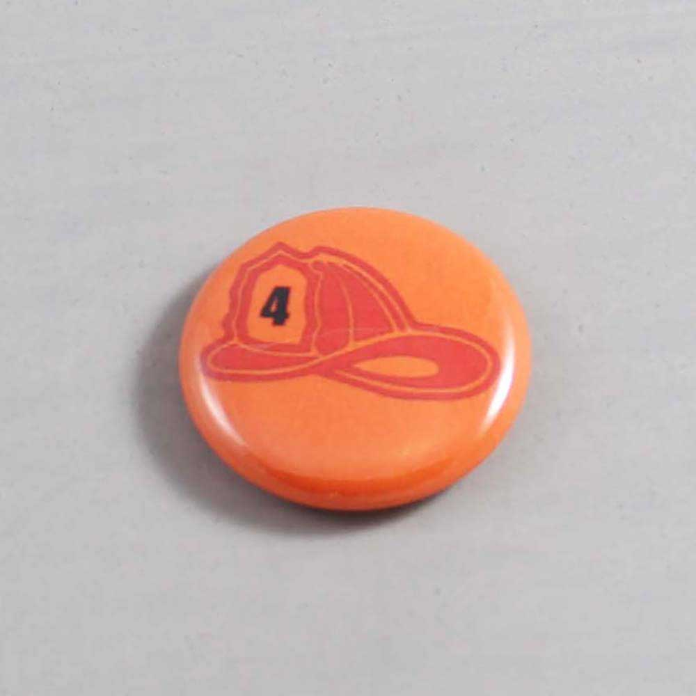Firefighter Button 12 Orange