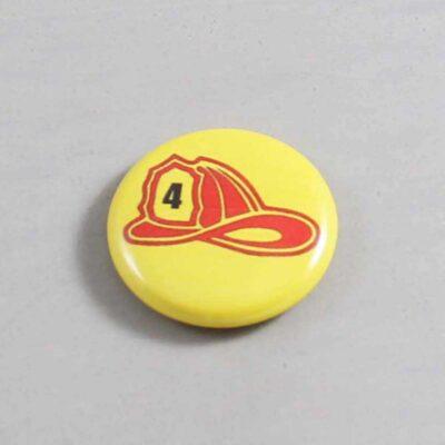 Firefighter Button 12 Yellow