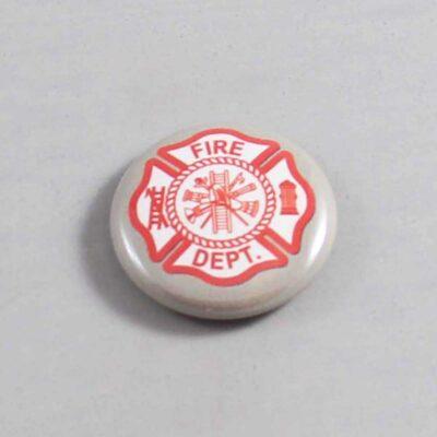 Firefighter Button 13 Gray