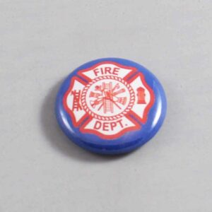 Firefighter Button 13 Navy Blue